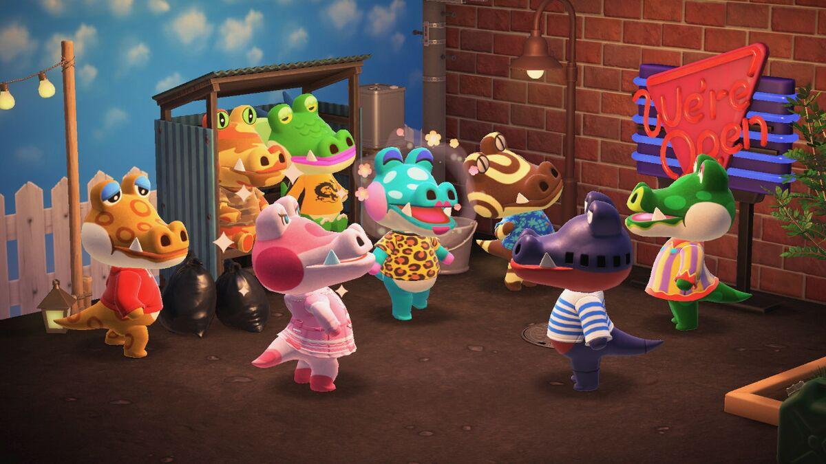 Alligator Animal Crossing Wiki Nookipedia