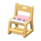 Study Chair (Natural - Pink) NH Icon.png