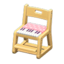 Writing Chair (Natural - Pink)