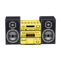 Gold Stereo