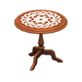 Antique Mini Table (Brown) NH Icon.png