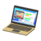 Laptop (Gold - Chat Tool) NH Icon.png