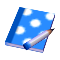 Blue Polka Pad