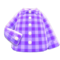 Gingham Picnic Shirt (Purple) NH Icon.png