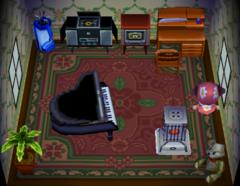 Teddy's house interior