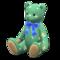 Papa Bear (Floral - Blue) NH Icon.png