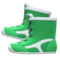 Wrestling Shoes (Green) NH Icon.png