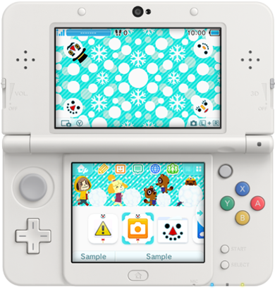 3DS Theme - Animal Crossing New Leaf - Winter Frolics.png