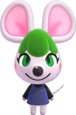 Artwork of Bree the Mouse