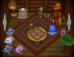Ava's house interior