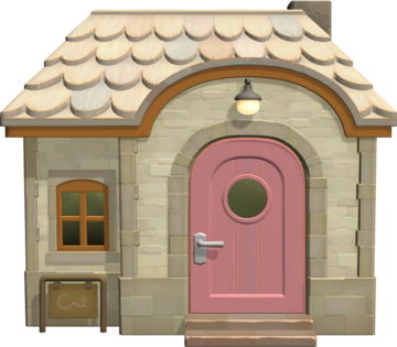 Exterior of Curly's house in Animal Crossing: New Horizons