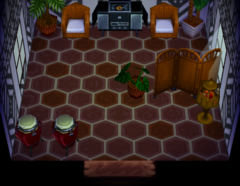 Savannah's house interior
