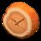 Log Wall-Mounted Clock (Orange Wood) NH Icon.png
