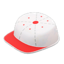 Throwback Hat Table (White & Red)