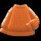 Aran-Knit Sweater (Orange) NH Icon.png