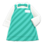 Diner Apron (Aquamarine) NH Icon.png