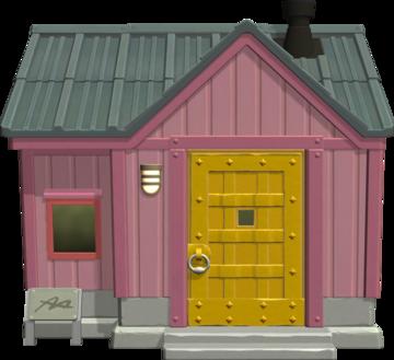 Exterior of Vladimir's house in Animal Crossing: New Horizons