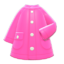 Raincoat (Pink) NH Icon.png