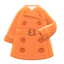 Trench Coat (Orange) NH Icon.png