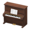 Upright Piano (Walnut) NH Icon.png
