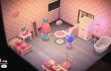Interior of Rosie's house in Animal Crossing: New Horizons