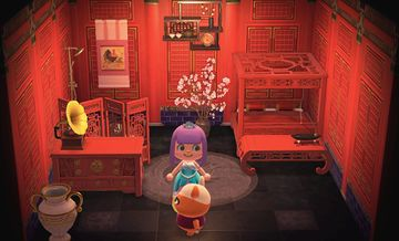 Interior of Soleil's house in Animal Crossing: New Horizons