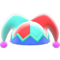 Jester's Cap (Red & Blue) NH Icon.png