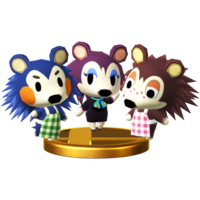Able Sisters SSB4 Trophy (Wii U).png