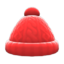 Aran-Knit Cap (Red) NH Icon.png