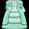 Fashionable Royal Dress (Green) NH Icon.png