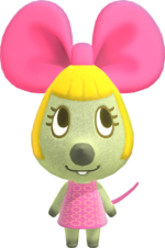 Artwork of Penelope the Mouse