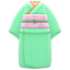 Simple Visiting Kimono (Pale Green) NH Icon.png