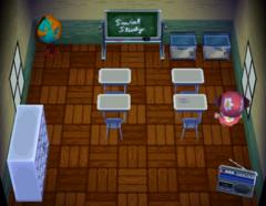 Doc's house interior