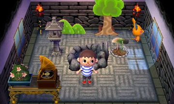 Interior of Limberg's house in Animal Crossing: New Leaf