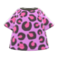 Leopard Tee (Pink) NH Icon.png