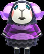 Artwork of Muffy the Sheep