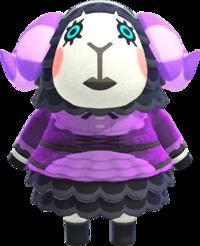 Muffy, an Animal Crossing villager.