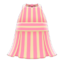 Striped Halter Dress (Pink) NH Icon.png