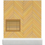 Brown Herringbone Wall