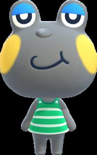 Huck, an Animal Crossing villager.