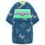 Butterfly Visiting Kimono (Indigo Blue) NH Icon.png