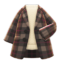 Checkered Chesterfield Coat (Brown) NH Icon.png