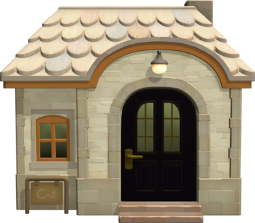 Exterior of Reneigh's house in Animal Crossing: New Horizons