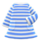 Striped Dress (Blue) NH Icon.png