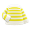 Striped Shirt (Yellow) NH Icon.png