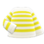 Striped Shirt (Yellow) NH Icon.png