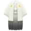 White Hakama with Crest