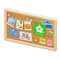 Corkboard (Natural - Flower) NH Icon.png