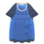 Fancy Party Dress (Blue) NH Icon.png