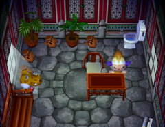 Alfonso's house interior